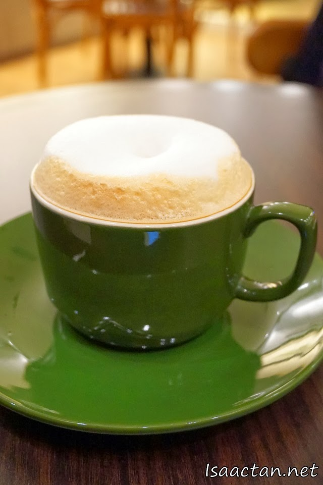 Pacific Coffee Sunway Pyramid's Cappuccino