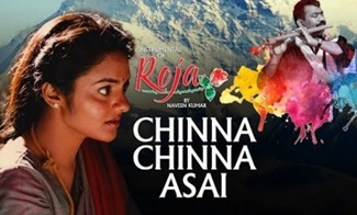 Chinna Chinna Asai Instrumental | A.R.Rahman | Instrumental Recreation of Roja By Naveen Kumar