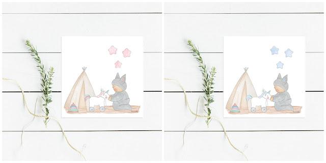 láminas infantiles bebés y niños, abecedarios para enmarcar - CUARTO DE JUEGOS