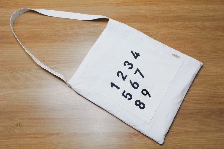 Canvas Fabric Shopping Bag.  Step by step photo tutorial.