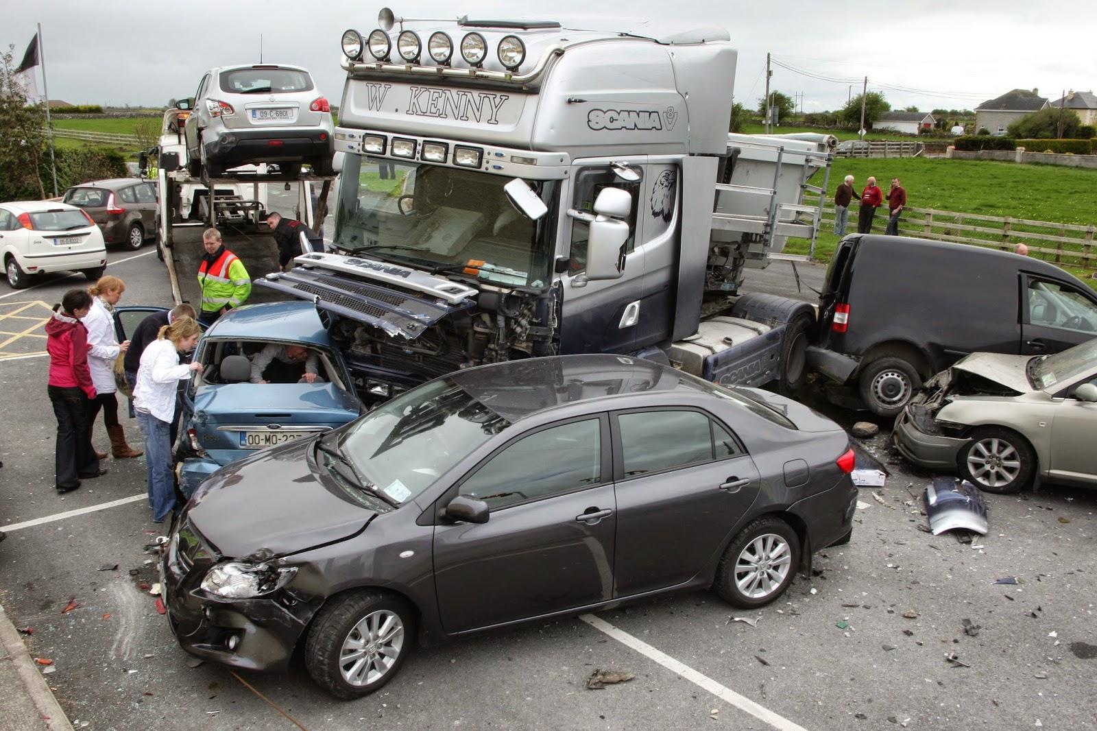 Truck Crash Compilation The Best Car Crashes Compilation 2014