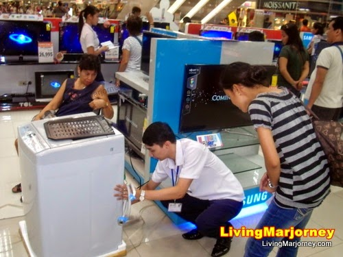 Samsung Fully-Automatic Washing Machine WA80V4 by MarjorieUy