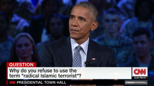 Call them what they are, which is killers and terrorists'- Barack Obama explains why he refuses to use the term 'Islamic Terrorism'