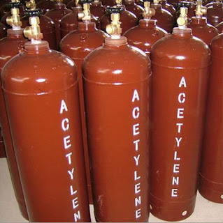 gas asetilena, gas butuna sebagai bahan bakar las