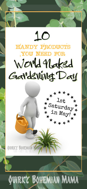 Everything you need to know about world naked gardening day. Gardening in the buff. National gardening day 2019. #wngd