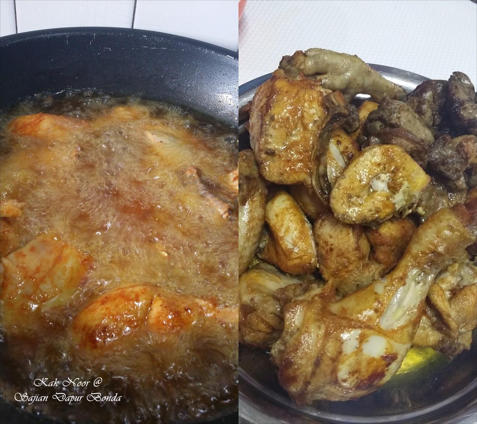 Rendang Tok Versi Ayam, inspirasi Sajian Dapur Bonda