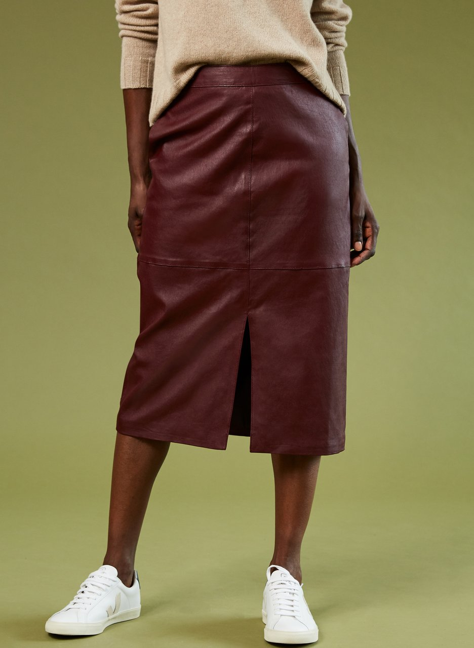 baukjen carmen leather skirt