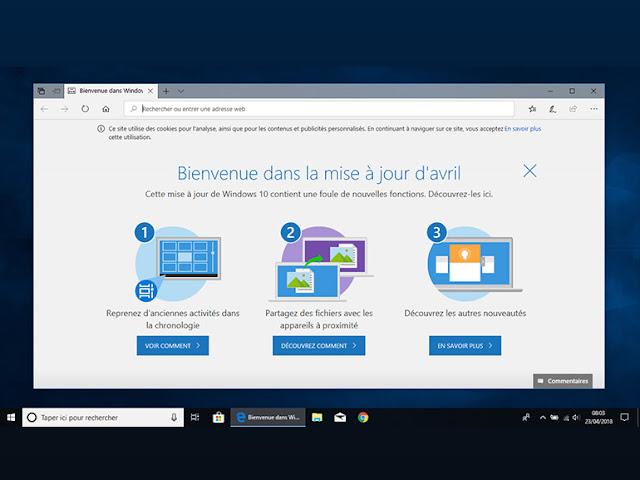 ويندوز Windows 10: تحديث أبريلAbril جاهز ، هل يجب تثبيته وكيف في طريقتين؟