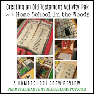 Old Testament Activity-Pak from Home School in the Woods {Product Review}