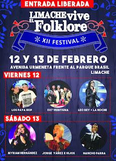 Festival Limache Vive El Folklore