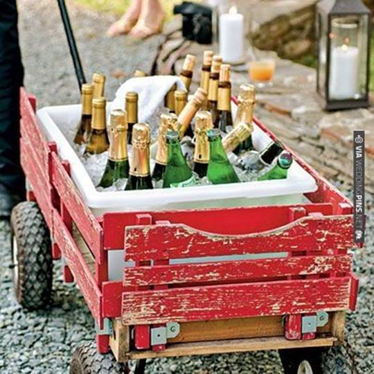 Host an Outdoor wedding party ideas