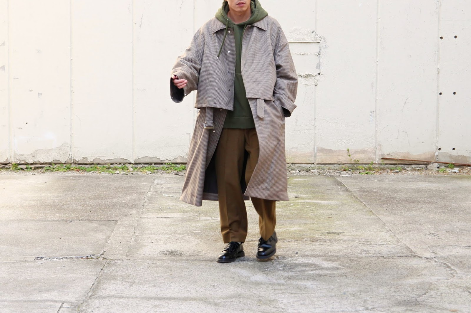 YOKE / ヨーク「3WAY BAL COLLAR SHARE COAT」