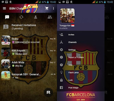 Kumpulan BBM Mod Sepakbola Versi 2.10.0.31 Apk Terbaru (Part II)