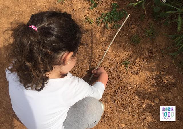 Actividad para peques: arte en la naturaleza y con la naturaleza