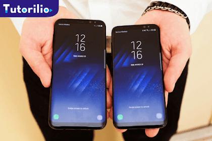 Cara Screenshot di Samsung Galaxy S8 dan S8+