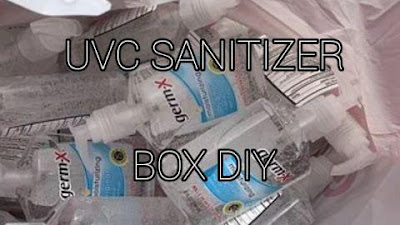 UVC light sanitizer box diy does it work to disinfect