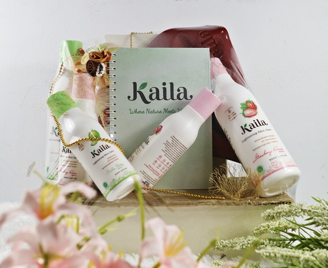 Unboxing Goodie Bag from Kaila Body Lotion