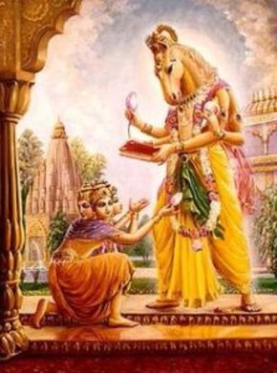 Hindu lord ashwinis picture