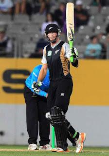 Martin Guptill 91* - New Zealand vs Zimbabwe 1st T20I 2012 Highlights
