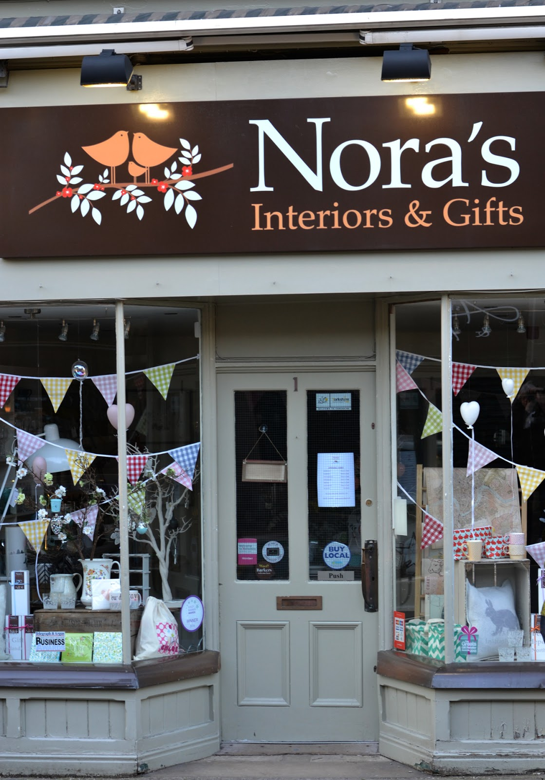 Nora's Ilkley Yorkshire