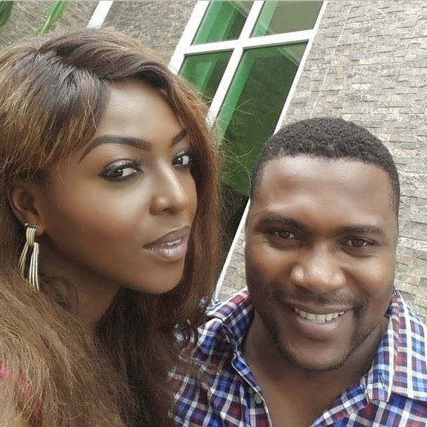 Nollywood by Mindspace: SPOTTED: YVONNE OKORO AND BEVERLY