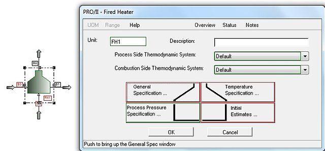 Unidad de cálculo en simulador comercial