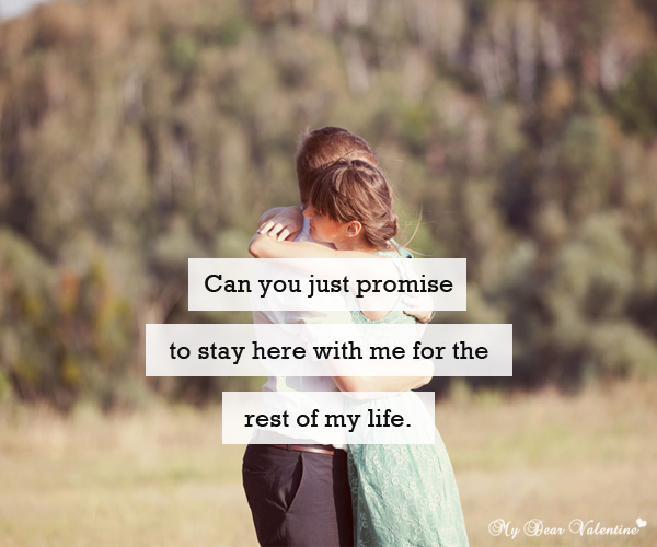 42 Heart Touching Love Promise Quotes Freshmorningquotes