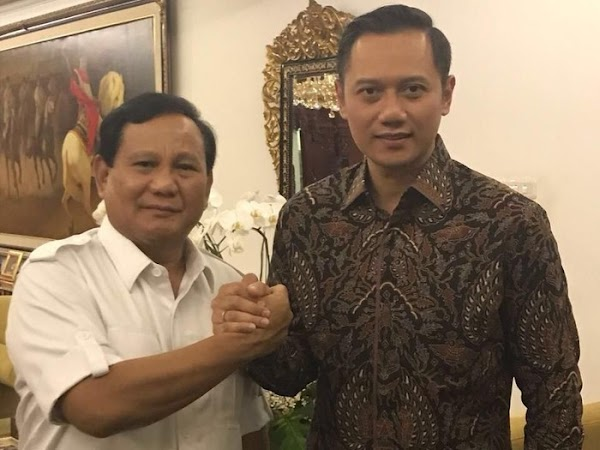 Bersyukur AHY Masuk 5 Besar, Demokrat: Wajar Prabowo Di Puncak Karena 3 Kali Ikut Pilpres