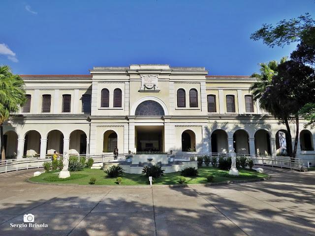 Vista frontal do Museu da Imigração do Estado de São Paulo - Moóca - São Paulo
