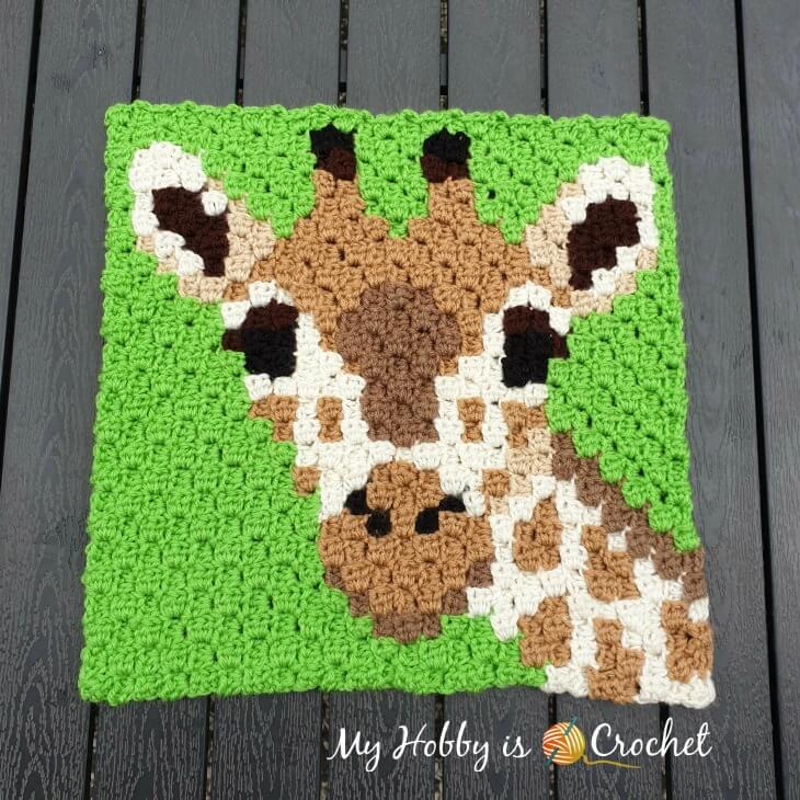 The Perfect Stitch...: Crochet Elephant Baby Blanket - C2C | 730x730