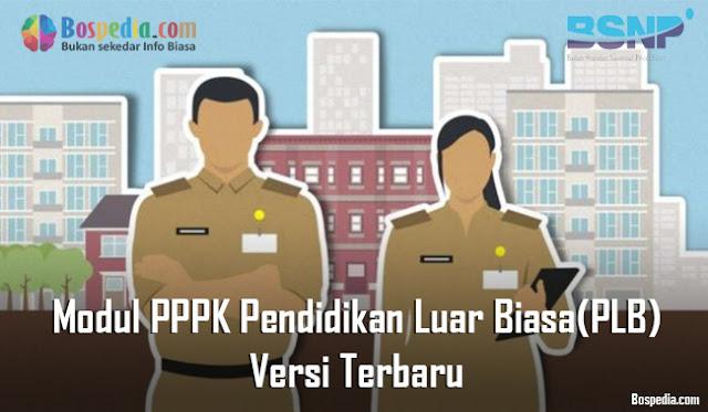 Modul PPPK Pendidikan Luar Biasa(PLB) Versi Terbaru