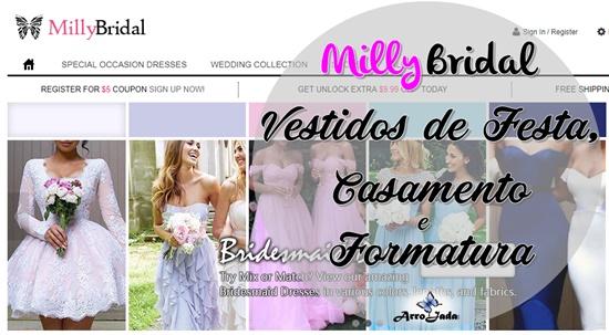 Milly Bridal - Loja Gringa de Vestidos para Festas, Casamento e Formaturas