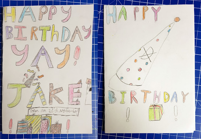 Art Discount review pencil crayons drawings birthday cards