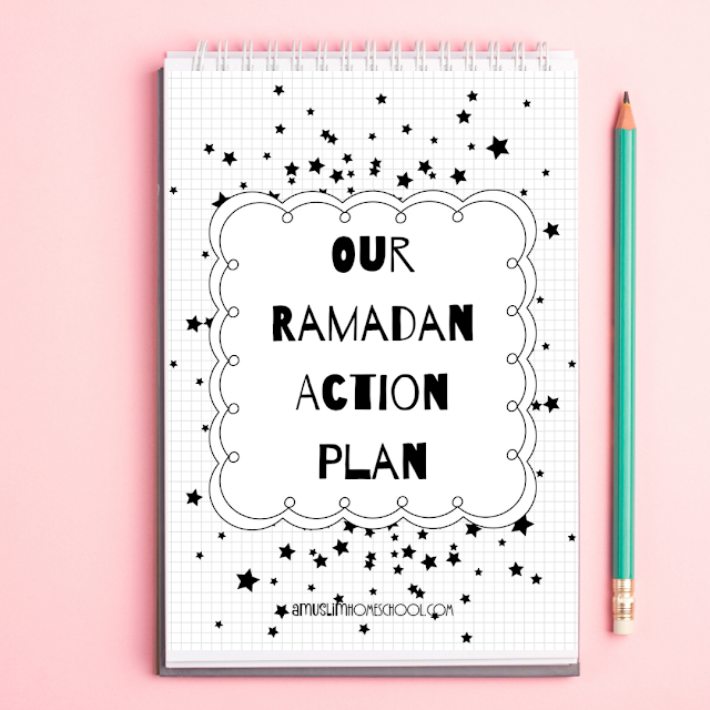 Ramadan Action Plan printable family activity guide