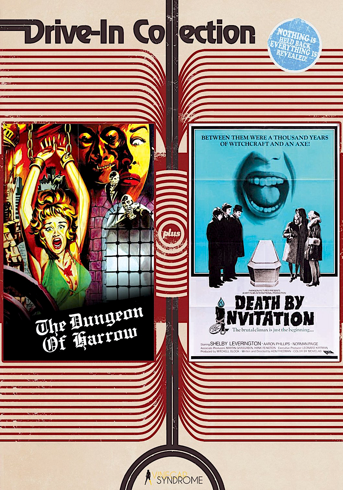 22 VINEGAR SYNDROME DRIVE-IN COLLECTION DVDS ideas