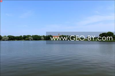 Замковое озеро в Несвиже