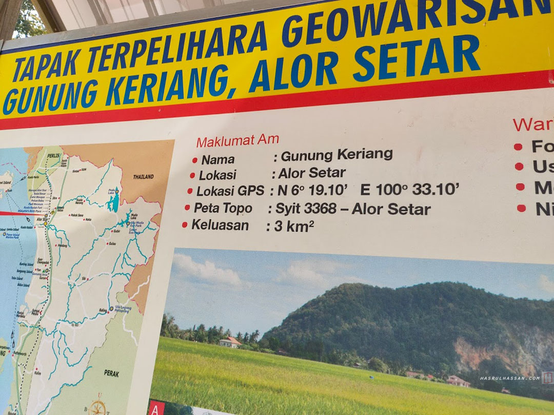 Fakta Menarik Gunung Keriang