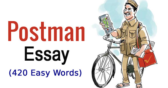 Essay on Postman in English