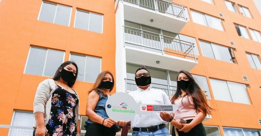 CRÉDITO MI VIVIENDA: Programa social alcanzó a otorgar 931 créditos hipotecarios en enero del 2021