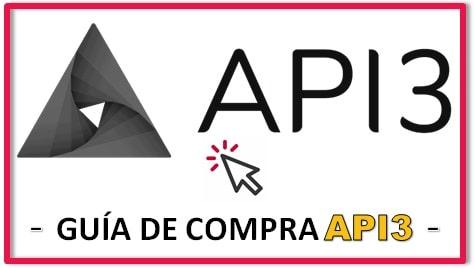 Cómo y Dónde Comprar API3 Criptomoneda