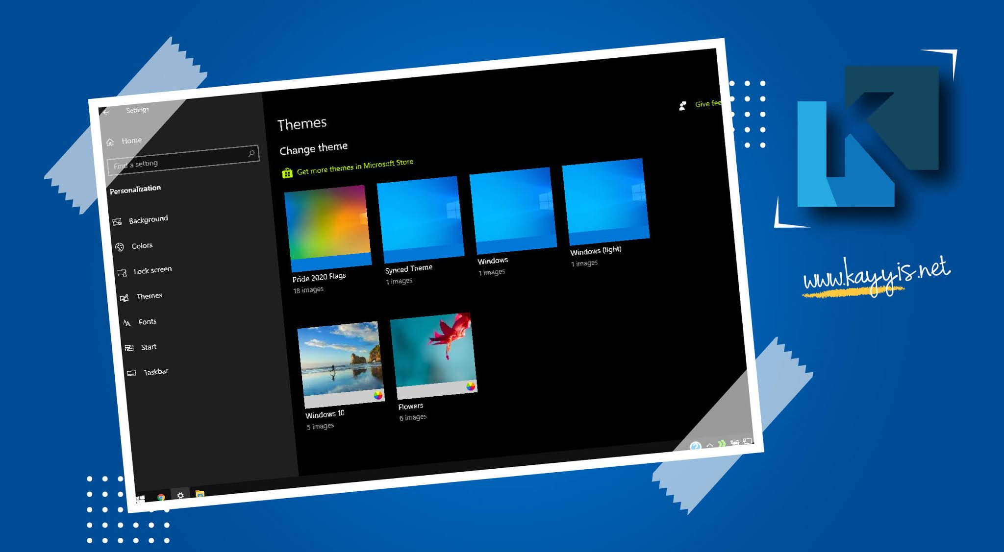 Memasang dan Mengganti Tema Baru di Windows 10 dari Microsoft dan Non-Microsoft