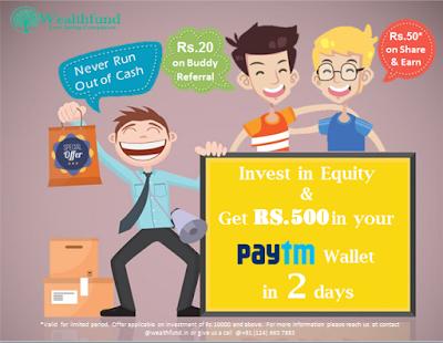 wealthfund free paytm