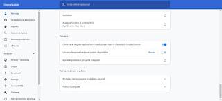 Accelerazione Chrome
