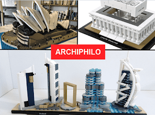 LEGO to build architectural models