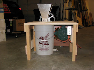 The Atomic Woodworker: New Motorized Grain Mill