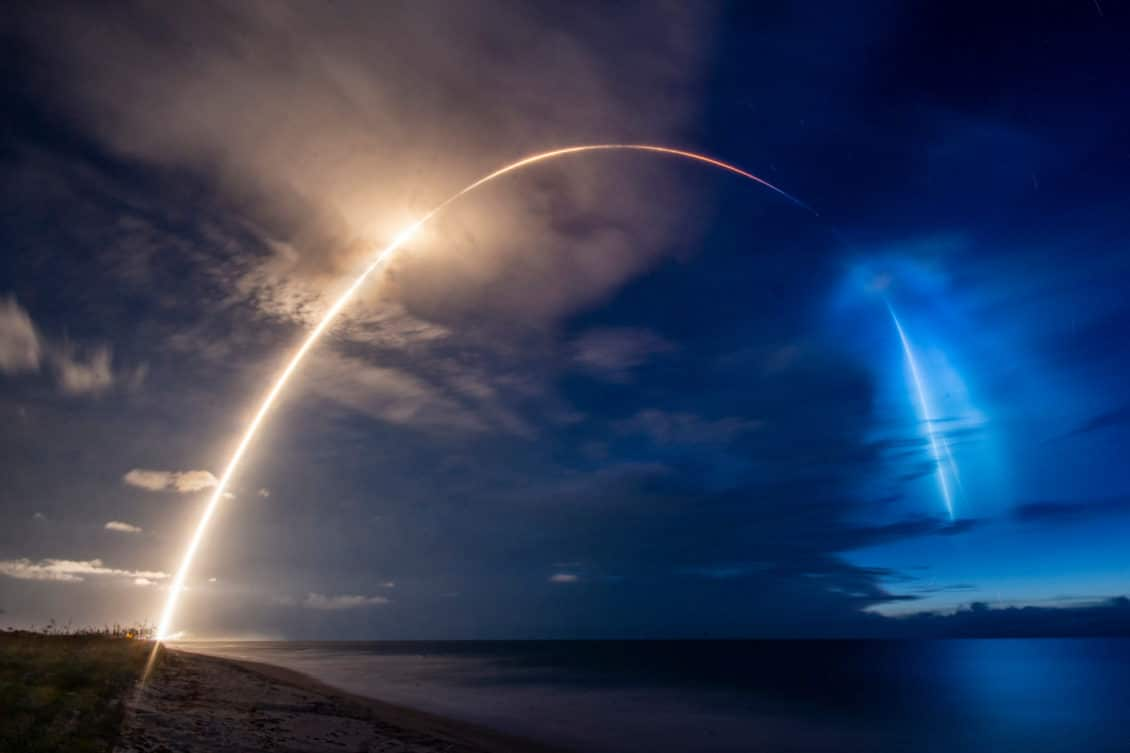 SpaceX launches 58 new Internet satellites