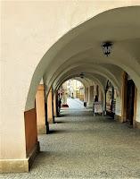 Podcienia Kamienicy pod Kotwicą w Rynku
