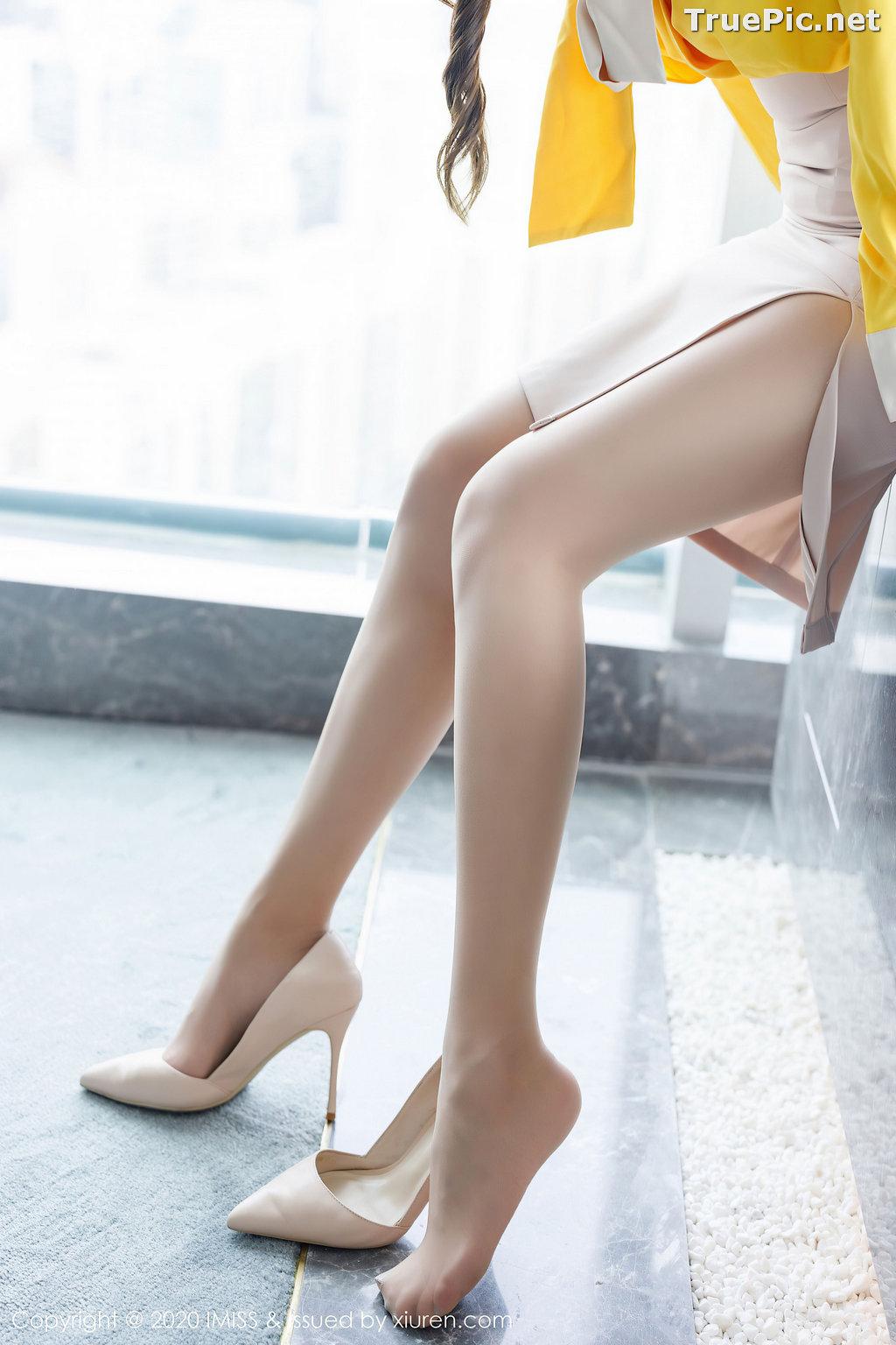 Image IMISS Vol.494 - Chinese Model - Lavinia肉肉 - Beautiful Long Legs Secretary - TruePic.net - Picture-10