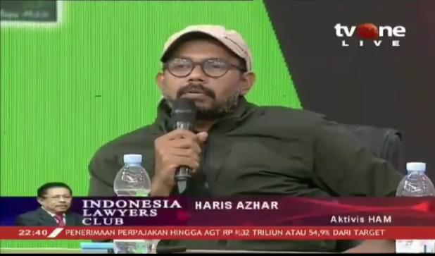 Haris Azhar Semprot Menkumham: Bapak Bekerja, Orang Menderita