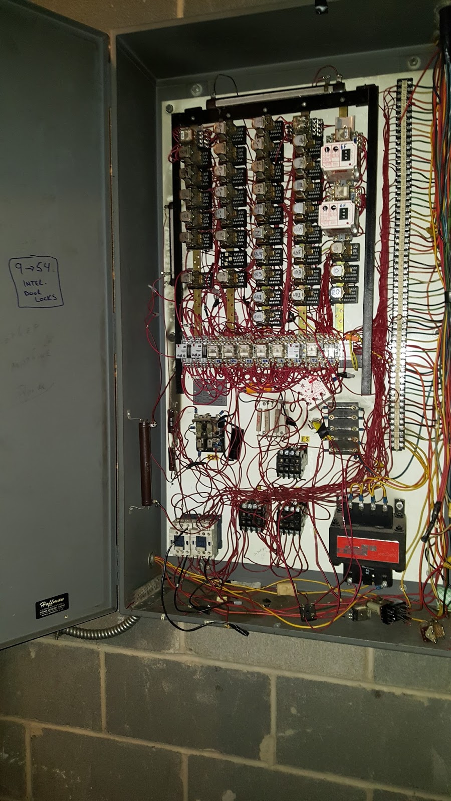 [Old control system was kept together with paper clips and bubblegum]